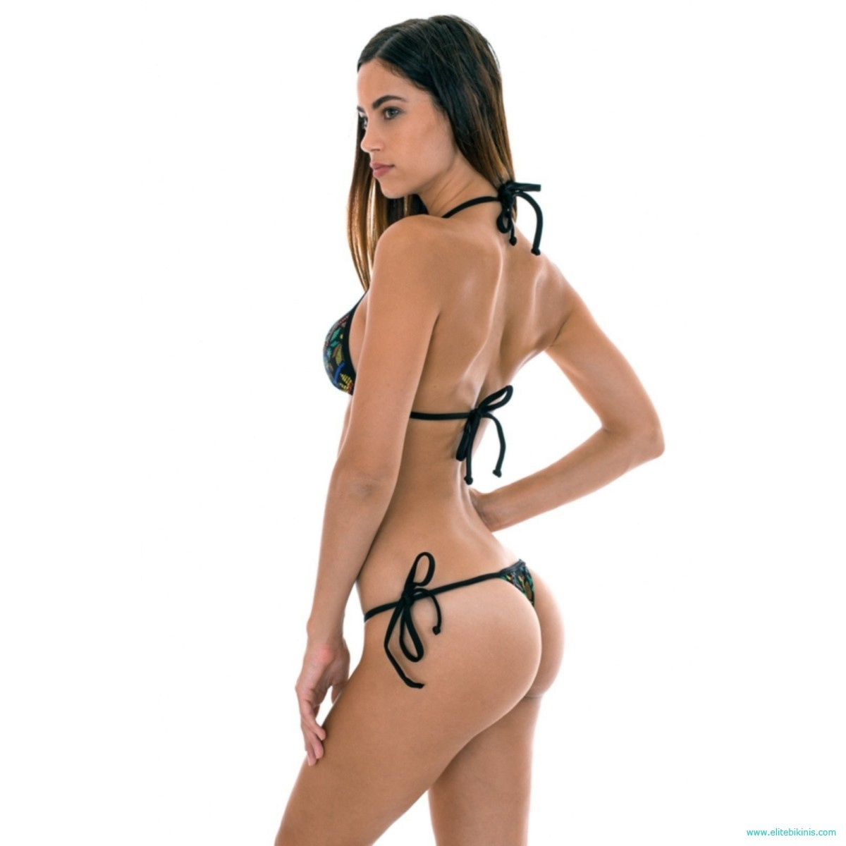 This Black Micro Bikini Also Known As Thong Belongs To The 2018 Collection By The Known Brand Rio De Sol And Its Made In Brazil