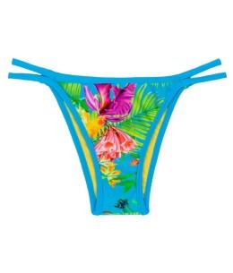 Calcinha Tropical Blue Duo